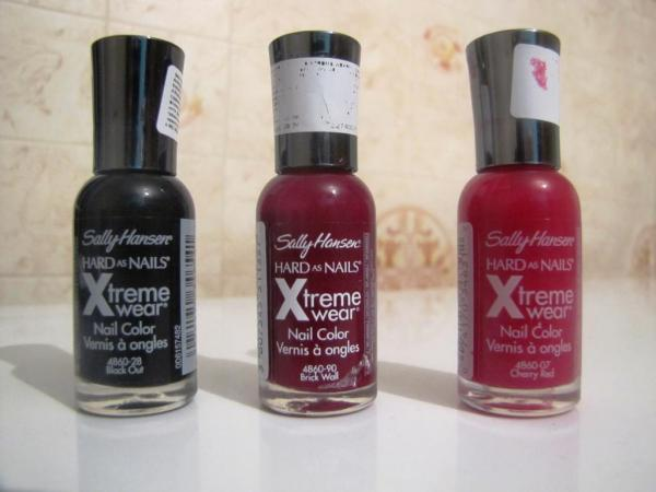 Лак для ногтей Sally Hansen HARD as NAILS Xtreme wear