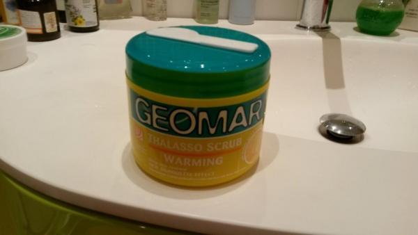 Скраб с ароматом банана Geomar