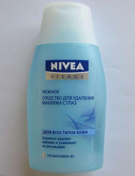 Нежное средство для удаления макияжа с глаз от Nivea