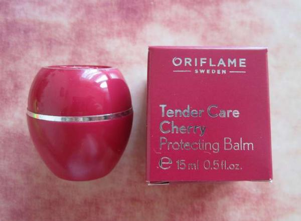 Специальное смягчающее средство Tender Care Cherry Protecting balm от Oriflame