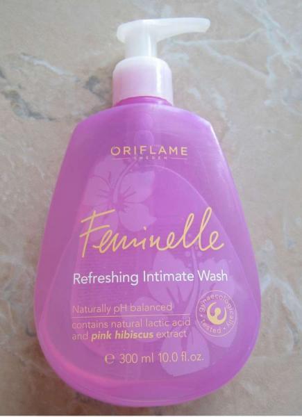 Освежающий гель для интимной гигиены «Феминель» от Oriflame