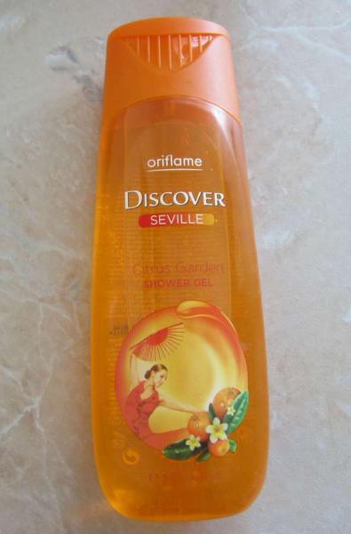 Гель для душа «Апельсиновая Севилья» от Oriflame