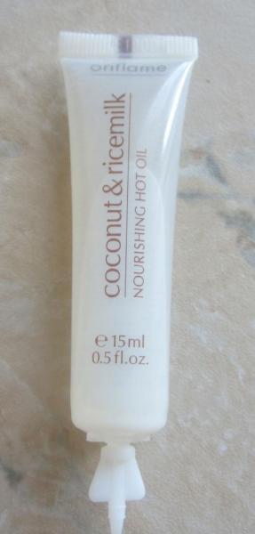Восстанавливающее маслом для волос «Кокос и рисовое молоко» от Oriflame