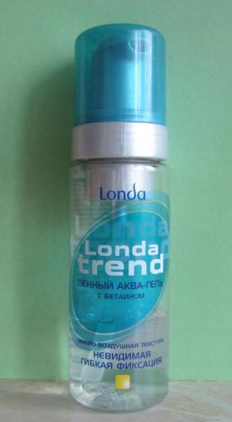 Пенный аква-гель «Londa trend» от Londa