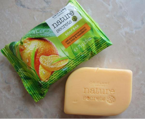 Мыло «Чайное дерево и мандарин» от Oriflame