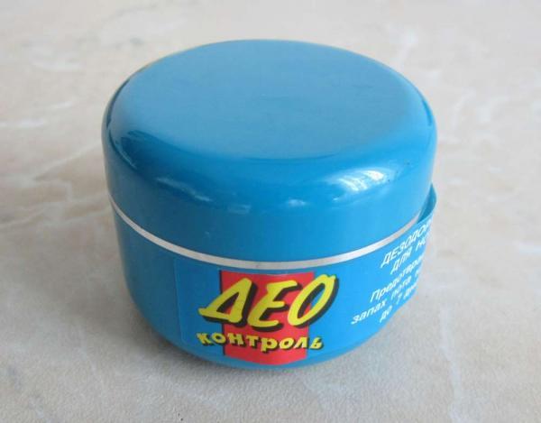 Крем-дезодорант для ног «Део Контроль»
