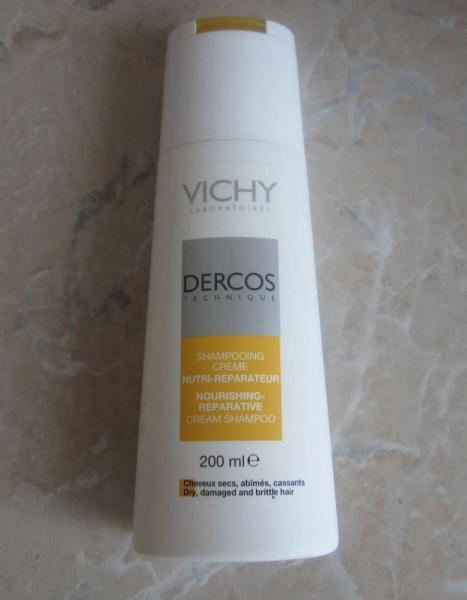 Питательно-востанавливающий шампунь-крем от Vichy