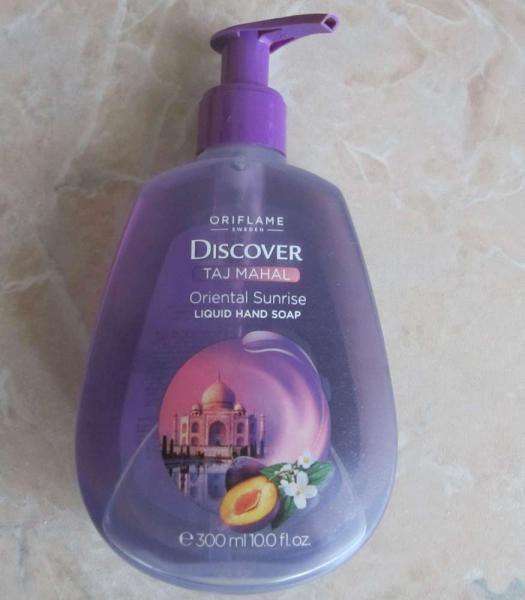 Жидкое мыло «Сокровища Тадж-Махала» от Орифлейм