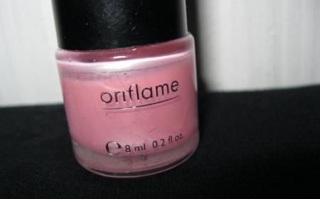 "Oriflame Pure Colour Nail Polish ""Розовый Иней"""