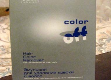 Смывка краски с волос Estel Color Off