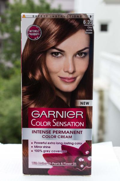 Цвет каштан краска для волос фото