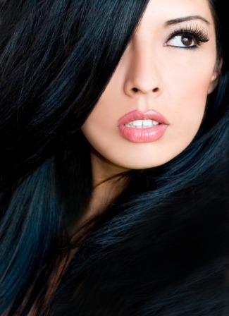 Иссиня черный цвет волос отзывы