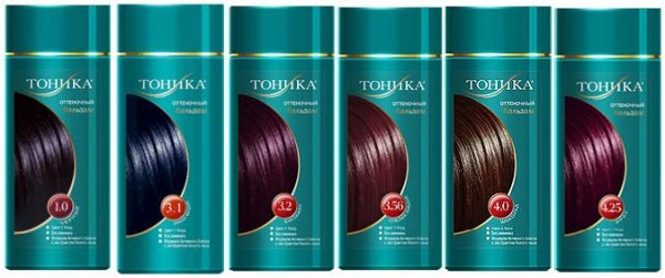 Тоника палитра для русых волос