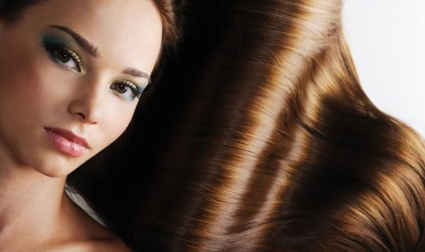 Красивые волосы у девушки фото