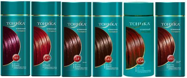 шампуни тоники для волос