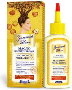 Золотой шелк косметика для волос