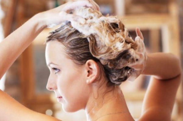 как вымыть масло из волос