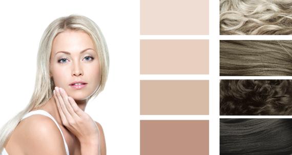 Цвет волос для цветотипа-лето